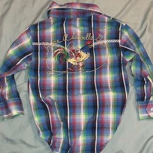 Western Button up • New w/o tags